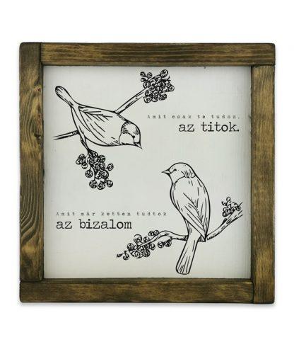 keretes kreta tabla feher nagyon szerelmes madarak