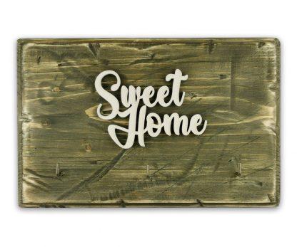 sweet home rusztikus fali akaszto 28 19