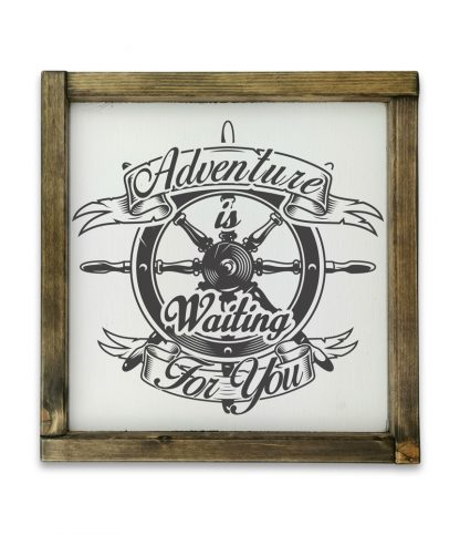 adventure is waiting for you keretes fatabla feher alap
