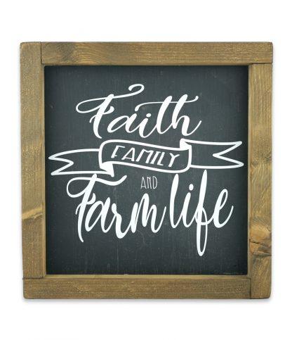 faith family and love keretes fekete alap