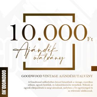 Goodwood Vintage Ajándékutalvány - 10.000Ft