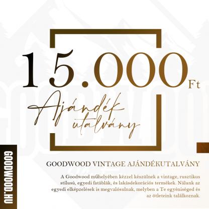 Goodwood Vintage Ajándékutalvány - 15.000 Ft