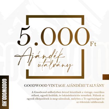 Goodwood Vintage Ajándékutalvány - 5.000 Ft