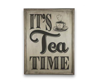 its tea time a4 ivory white