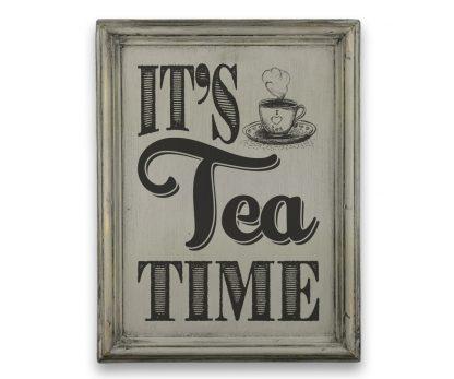 its tea time a4 szurke