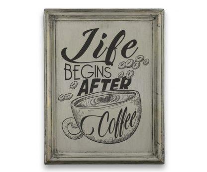 life begins after coffee szurke