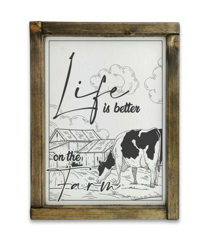 life is better on the farmm tolgy keretes tabla
