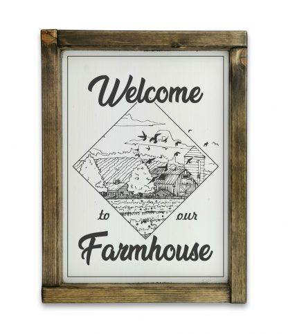 welcome to our farmhouse tolgy keretes tabla