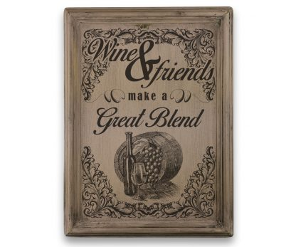 wine and friends make a great blend r├│zsasz├sn