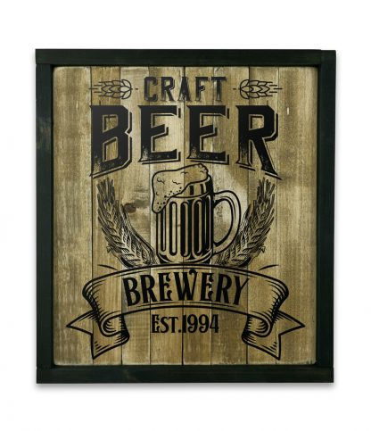 fekete keretes natur deszkatabla craft beer