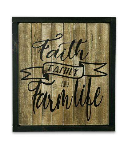 fekete keretes natur deszkatabla faith family and farmlife
