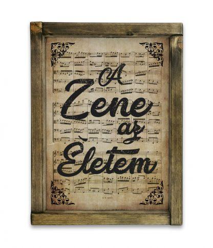 zene Bach Cantata a zene az eletem termek regi papir tolgy keret