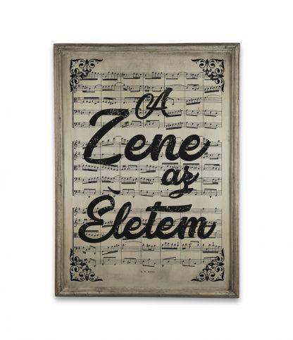 zene Bach Cantata a zene az eletem vintage ivory white