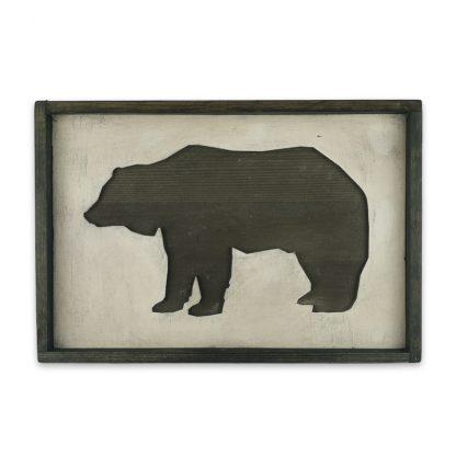 Medve 3D Vintage deszkatabla