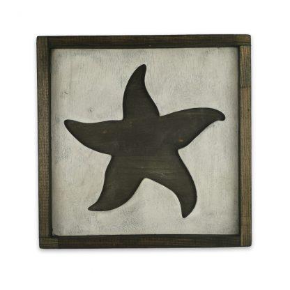 Tengeri csillag 3D Vintage deszkatabla