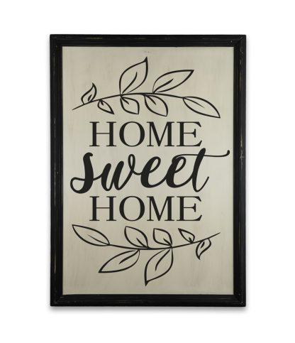 home sweet home fatabla fekete kerettel