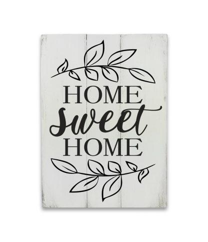 home sweet home feher deszkatabla