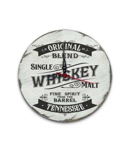 tennessee whiskey koptatott feher vintage kor tabla ora