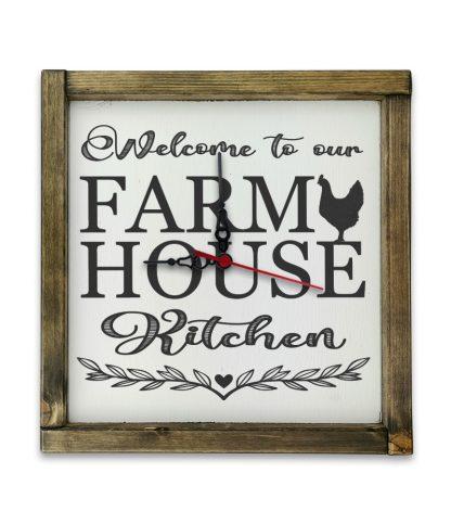 welcome to our farmhouse kitchen tolgy keret ora