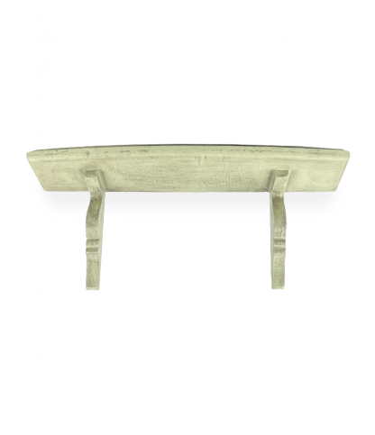 Vintage fali polc – menta zöld
