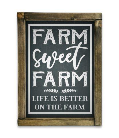 farm sweet farm tolgy keret fekete